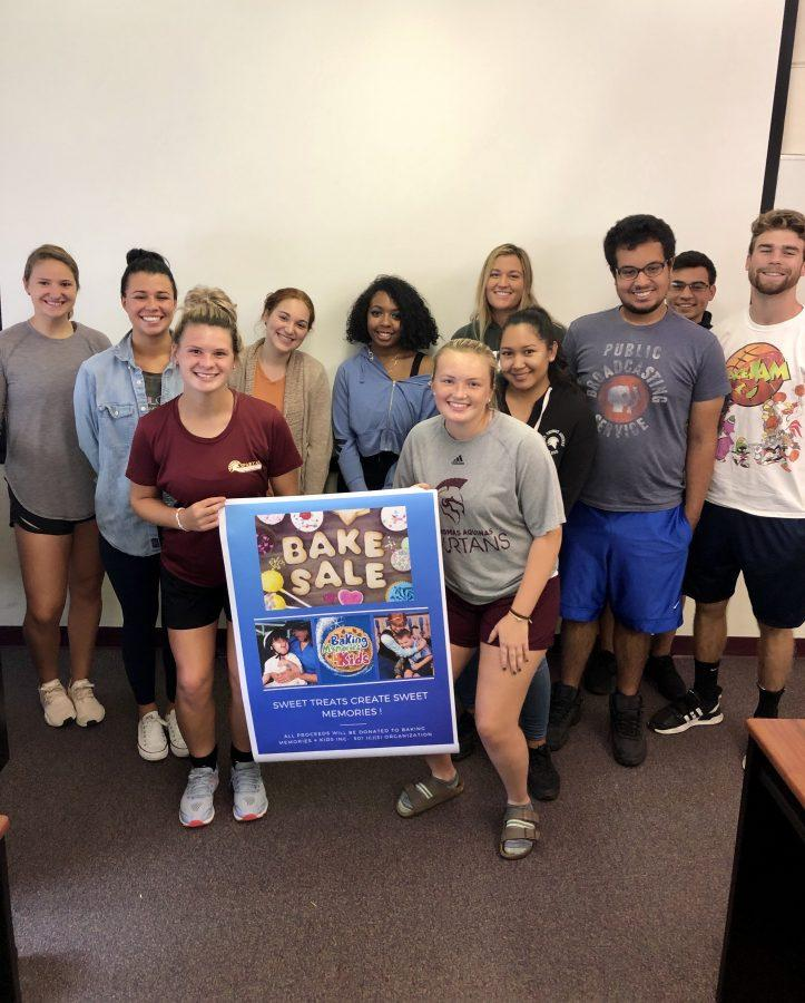 STAC students gain professional experience through promoting Baking Memories 4 Kids