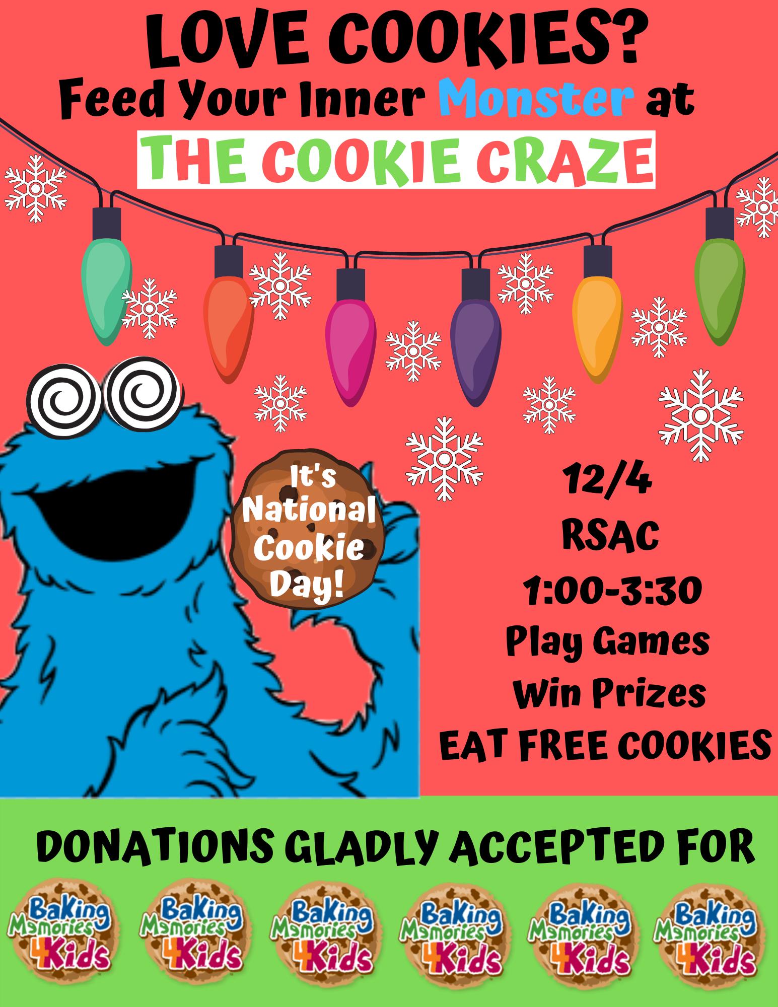 Cookie Craze Flyer