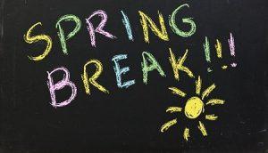 Spring Break - Tropical Vacation = Fun!