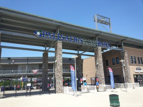 """(Photo courtesy ballparkreviews.com):  Commencement for STAC""""s Class of 2021 will be held at Palisades Credit Union Park, home of the New York Boulders."""